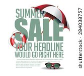 Summer Sale Marketing Template...