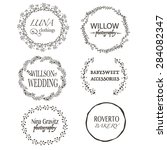 six high quality vector labels | Shutterstock .eps vector #284082347