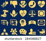 medical icon set. style  icons... | Shutterstock . vector #284088827
