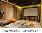 home cinema   Shutterstock . vector #284139917