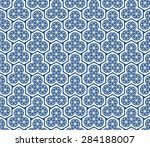 seamless oriental pattern of...