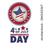 independence day design over... | Shutterstock .eps vector #284242367