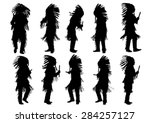 Silhouettes Of Indian Musical...