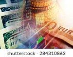 world finance system. finance... | Shutterstock . vector #284310863