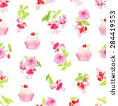 Blooming Fuchsia  Cupcakes And...