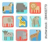 Icons  Wild Animals Of Africa...