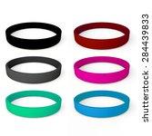 3d rendering colorful blank... | Shutterstock . vector #284439833