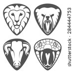 cool animal heads for guitar...