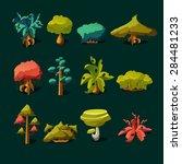 Cartoon Nature Elements  Vecto...