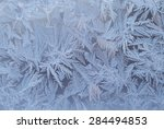Ice Formation On Window During...