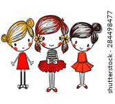 Fashion Graphic Girl   Cute...