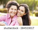 Mother With Adult Daughter In...