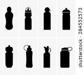 sports water bottles | Shutterstock .eps vector #284552573