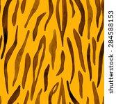 abstract watercolor hand... | Shutterstock .eps vector #284588153