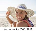 Happy Girl Smiling Portrait In...