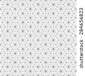 geometric line pattern... | Shutterstock .eps vector #284656823