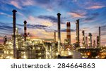 factory  industry  oil refinery | Shutterstock . vector #284664863