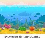 Underwater Seamless Landscape ...