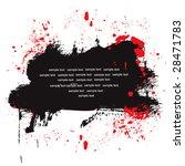 vector ink splash background | Shutterstock .eps vector #28471783