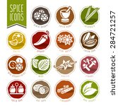 spice icon set | Shutterstock .eps vector #284721257