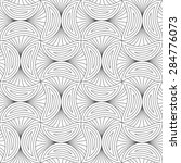 gray seamless geometrical... | Shutterstock .eps vector #284776073