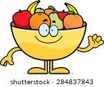 a cartoon illustration of a...   Shutterstock .eps vector #284837843