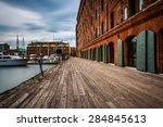 long exposure of the inn at... | Shutterstock . vector #284845613