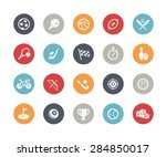 sports icons    classics series | Shutterstock .eps vector #284850017