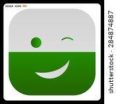 smiley face. vector design | Shutterstock .eps vector #284874887
