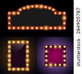 bulb frames   Shutterstock .eps vector #284905787