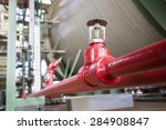 Fire Sprinkler In Petrochemica...