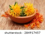 Safflower Used As A Food...