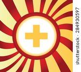 yellow icon with plus symbol ...