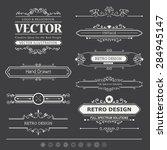 calligraphic vector design