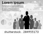 business people group... | Shutterstock .eps vector #284955173