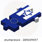 vector image   european union... | Shutterstock .eps vector #285029057