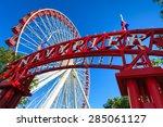 chicago  illinois usa   august... | Shutterstock . vector #285061127