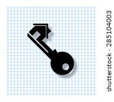 real estate   vector icon with...
