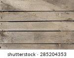 Wiev Of Old Wood Planks ...