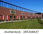 almere poort  the netherlands   ... | Shutterstock . vector #285268637