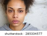 close up portrait of a... | Shutterstock . vector #285334577