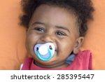 african baby     | Shutterstock . vector #285395447