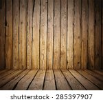 painted old wooden wall. brown...