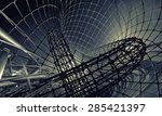 technology background  | Shutterstock . vector #285421397