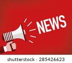 news | Shutterstock .eps vector #285426623