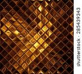 Luxury Golden Mosaic  Shiny...