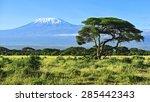 Mount Kilimanjaro In Kenya...