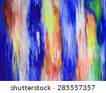 oil color background for your... | Shutterstock . vector #285557357