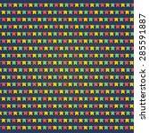 simple flag background for... | Shutterstock .eps vector #285591887