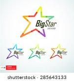 concept logo template. vector...   Shutterstock .eps vector #285643133